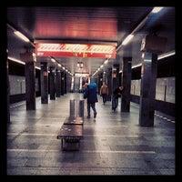 Photo taken at Metro =C= I. P. Pavlova by Tosiro O. on 6/27/2013