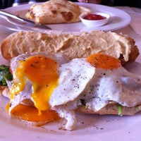 Photo taken at Wild Wombat Restaurant Cafe by Lynn L. on 10/26/2013
