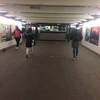 Photo taken at MTA Subway - Bedford/Nostrand Aves (G) by Michelle B. on 3/3/2017