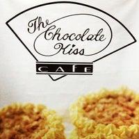 Photo taken at The Chocolate Kiss Café by sean u. on 5/27/2013