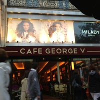Photo taken at Café George V by Michael V. on 6/11/2013