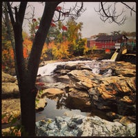Photo taken at Shelburne Falls, MA by Ross F. on 10/6/2013