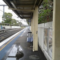 Photo taken at Merrylands Station (Platform 2) by Sean S. on 11/17/2013