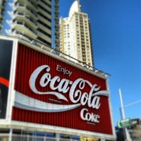 Photo taken at The Coca-Cola Billboard by Sean S. on 8/14/2013