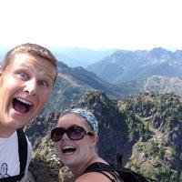 Photo taken at Mount Ellinor by Blake H. on 8/18/2014