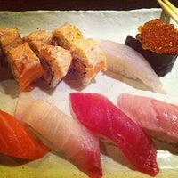 Photo taken at Circle Sushi by Mike L. on 12/20/2012