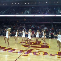 Photo taken at Galen Center (GEC) by Blackford O. on 12/16/2012