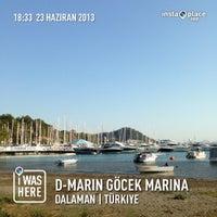 6/23/2013 tarihinde Demet K.ziyaretçi tarafından D-Marin Göcek Marina'de çekilen fotoğraf