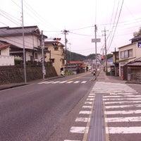 Photo taken at 緑ヶ丘団地入口 交差点 by u on 4/21/2013