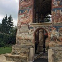 Photo taken at Biserica Mânăstirii Moldovița by Oana C. on 7/27/2017