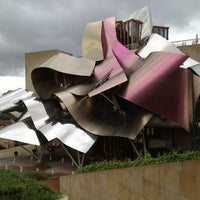 Photo taken at Hotel Marqués de Riscal by Jonathan F. on 6/18/2013
