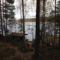 Photo taken at Pirttisaaren Sauna by JJ on 10/12/2013