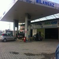 Photo taken at Milangaz by Gökhan E. on 1/22/2013