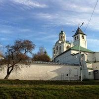 Снимок сделан в Спасо-Преображенский монастырь пользователем Elena P. 5/4/2013