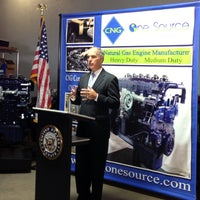 Photo taken at CNG One Source by Senator Bob Casey on 9/4/2013