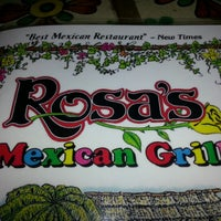 Photo taken at Rosa's Mexican Grill by Jared J. on 1/11/2013
