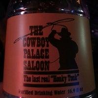 Photo taken at Cowboy Palace Saloon by Jared J. on 4/20/2013