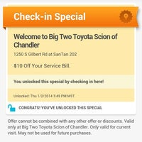 High Quality Photo Taken At Big Two Toyota Of Chandler By Jared J. On 1/2