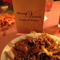 Photo taken at Mount Vernon Stable & Saloon by Robert A. on 5/3/2013