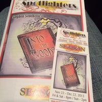 Photo taken at Spotlighters Theatre by Robert A. on 12/14/2013