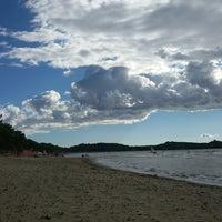 Photo taken at Beach Punta Ala by Tania S. on 9/1/2014