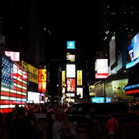 Photo taken at Times Square by Doug E. on 7/25/2013