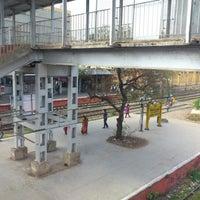 Photo taken at Chennai Beach Station by Prashanth on 2/10/2013