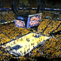 Photo taken at Bankers Life Fieldhouse by Amy I. on 6/2/2013