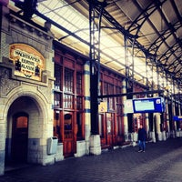 Photo taken at Station Haarlem by Sara D. on 4/28/2013