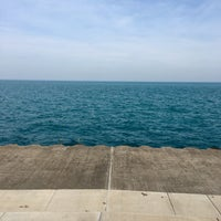 Photo taken at Chicago's Lakefront (Hyde Park) by Charniece T. on 2/20/2017