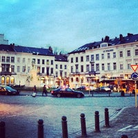 Photo taken at Luxemburgplein / Place du Luxembourg by Aga P. on 1/31/2013