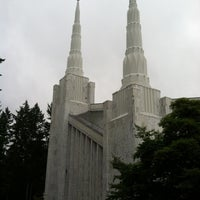 Photo taken at Portland Oregon Temple by Brent W. on 10/27/2012