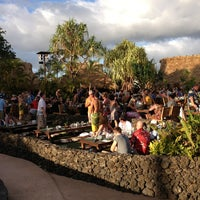Photo taken at Old Lahaina Luau by Adrián J. on 3/7/2013