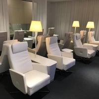 Photo taken at Finnair Premium Lounge by Adrian L. on 5/19/2018