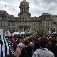 Photo taken at Baltimore City Hall by Michael M. on 5/1/2015