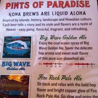 Photo taken at Kona Brewing Co. by Lisa K. on 10/4/2012
