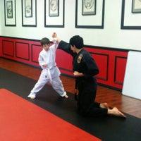 Photo taken at United Studios of Self Defense - Karate Irvine by Mark W. on 2/28/2014