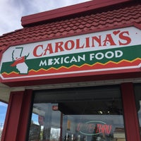 Photo taken at Carolina's Mexican Food by Amy P. on 2/14/2016