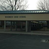 Photo taken at Wicomico High School by Joe C. on 1/13/2013