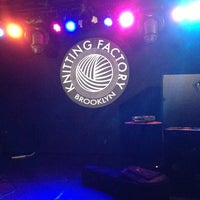 Photo taken at Knitting Factory by Creighton D. on 11/9/2012