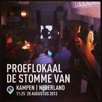 Photo taken at Proeflokaal De Stomme van Campen by Mario V. on 8/28/2013