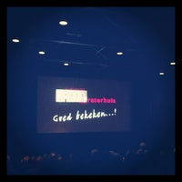 Photo taken at Filmtheater Fraterhuis by Mario V. on 11/24/2012