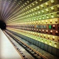 Photo taken at Metro =A= =C= Muzeum by Argyris T. on 12/27/2012
