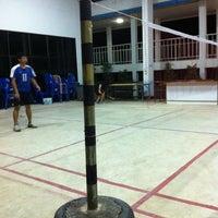 Photo taken at Badminton Court , Nongsaeng Hospital by Jeffy J. on 11/1/2012