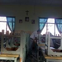 Photo taken at SMA Katolik Rex Mundi Manado by Gerry R. on 8/18/2013