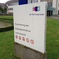Photo taken at Rechtbank Limburg by Erik C. on 9/18/2013