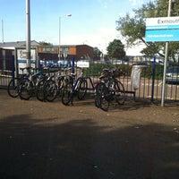 Photo taken at Exmouth Railway Station (EXM) by Elena on 9/10/2013