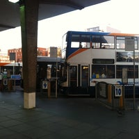 Photo taken at Exeter Bus Station by Elena on 5/1/2013
