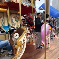 Photo taken at The Carousel at Pier 39 by Daniel K. on 5/5/2018