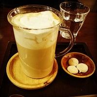 Photo taken at cafe shuu by ジュン J. on 2/11/2014